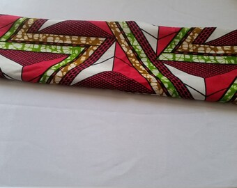 African fabric scarf
