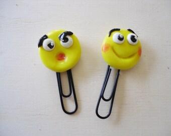 Bookmark smiley / emoticons bookmark