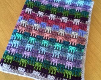 Crochet Baby Blanket Hedgerow