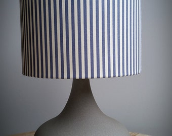 Stripy children's touch lamp