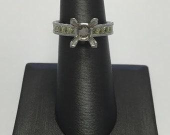 Custom Made Yellow Diamond Engagement Ring