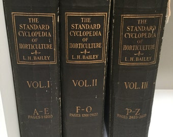 The standard cyclopedia of horticulture vol1,2&3