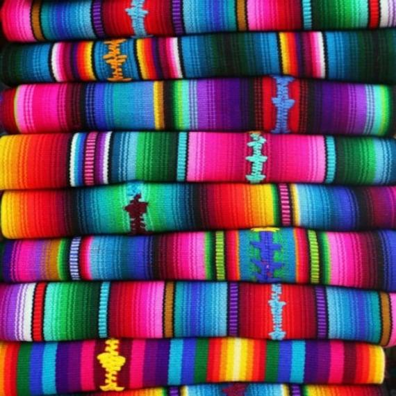Couvertures de tissus andins Premium, péruvienne, couleurs ethnique, tissus andins, textiles, tissus péruvien