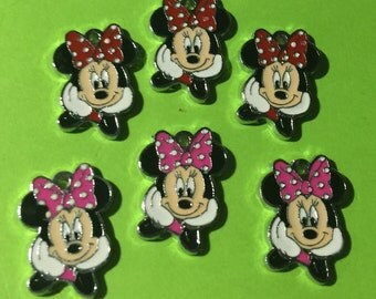 Minnie Mouse Charms