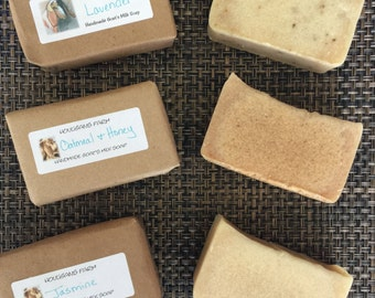 Homemade Goats Milk Soaps
