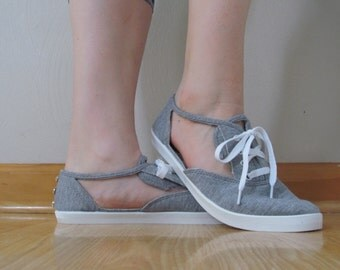 Cut-Out Sneakers