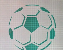 Football Template Mylar Airbrush Painting Wall Art Stencil