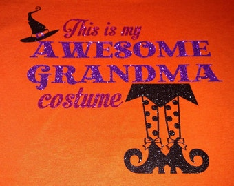 This is my awesome Grandma/Mom/Aunt/ costume!