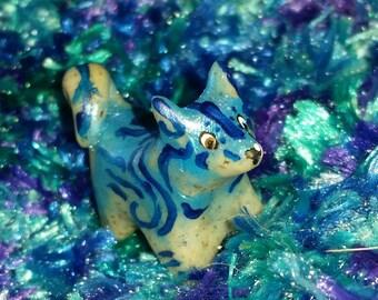 Polymer Clay Totem Talisman Animal Husky/Malamute Dog.