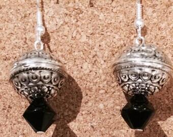 Black Metal Bohemian Fashion Earrings