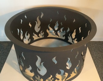 Fire Pit, Fire Ring, Metal, Custom, Outdoor, Portable, Decorative