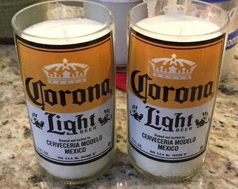 Corona Light Candle
