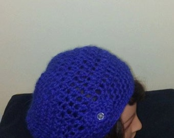 Royal Blue Slouchy Hat