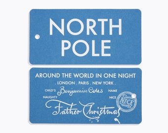 North Pole Tag