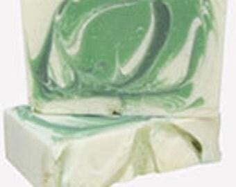 Eucalyptus Sent, Vegan Soap, Cold Process Soap, Handmade Soap, Bar Soap, Natural Soap, Free Shipping,