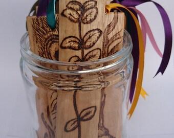 Wood Bookmark, Licorice