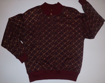 French Navy Sweater