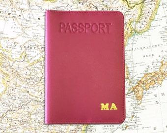 Monogrammed Passport Cover, Monogrammed Passport Holder, Monogrammed Passport, Monogrammed Passport Case, Monogram Passport Holder