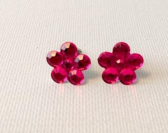 Pink Petite Flowers