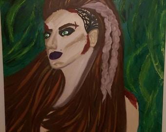 "The ""viking woman"""