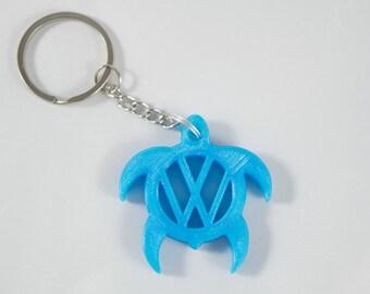 Volkswagen Turtle Keychain, Volkswagen Keychain, VW Keychain