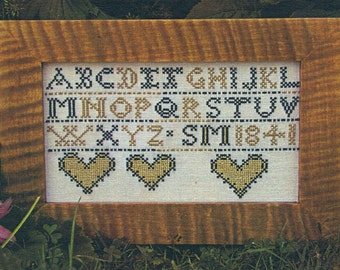 S M 1841 by Carriage House Samplings Counted Cross Stitch Pattern/Chart