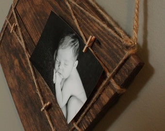 Wood Plank Picture Holder