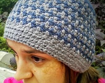 Crochet Houndstooth Toque