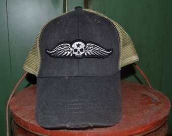 Vintage Peterbilt Patch On Trucker Hat