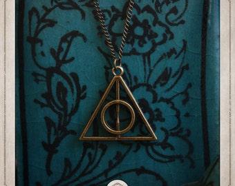 HARRY POTTER relics of death Poudlard COS009 pendant necklace