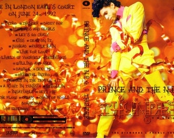PRINCE DIAMOND and PEARLS Tour 2 dvd set (London)