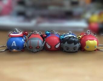 Marvel Tsum Tsum keychains