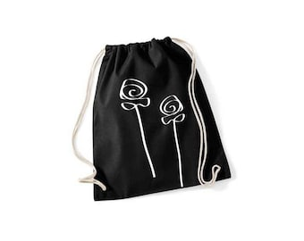 Flower - gym bags in 9 colors