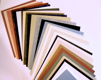 fabric mat board matting blanks for picture framing art phtos or crafts 24 pieces color variety archival quality matboard choose size