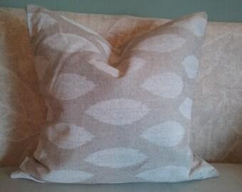 Burlap pillow cover, white,burlap, pillow cover, decorative pillow, pillowcase, accent pillow, rustic, fall, winter, home decor