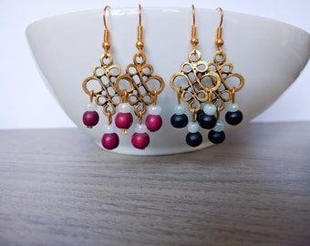 Earrings Chinese knot