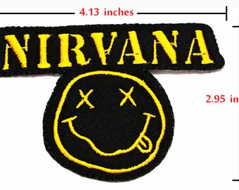 NIRVANA Songs Music Band t Shirts MN01 Iron on Patches.