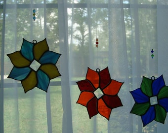 Stained Glass Star (Pattern # 6)