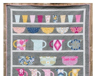 The Crockery Cupboard Quilt PDF Pattern