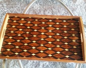 Moroccan Thuya Wood Serving Tray