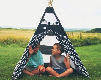 Teepee, play tent - ARROW pattern