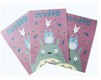 Totoro Poster A3 | chu Mai acorns | studio Ghibli | Laura Von Burns | children | cute bedroom print limited edition