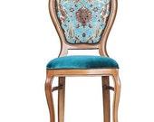 OTTOMAN style Walnut handmade chair ottoman Turkish Italian furniture antique living room unique furniture artisan vintage