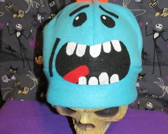 Mr.Meeseeks Inspired Hat Costume