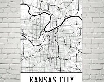 Kansas City Wall Art kansas city art | etsy