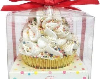 HAPPY BIRTHDAY Feeling Smitten Cupcake Bath Bombs Handmade Goodness Limited Edition