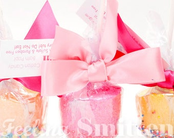 12 Pack of Bath Pops by Feeling Smitten Bath Bombs