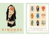 Kimonos Postcard Collection by Emily Winfield Martin