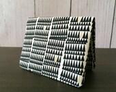 Card Wallet - Black Crooked Teeth