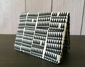 Card Wallet - Black Crooked Teeth